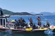통영해경, 수중레저활동 해양안전 캠페인 나서