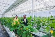 장충남 남해군수, 스마트팜 경영실습 임대농장 방문